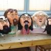 Maske 40 Hipsters