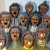 Maske 62 Inuti-Frauen