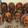 Maske 63 Inuit Männer